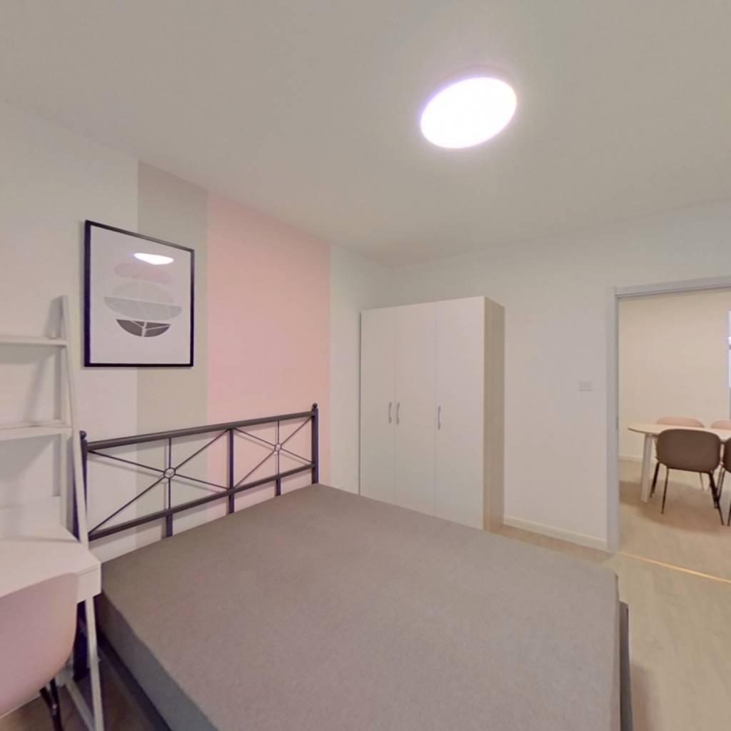 合租·秦淮教师公寓 4室1厅 南卧室图