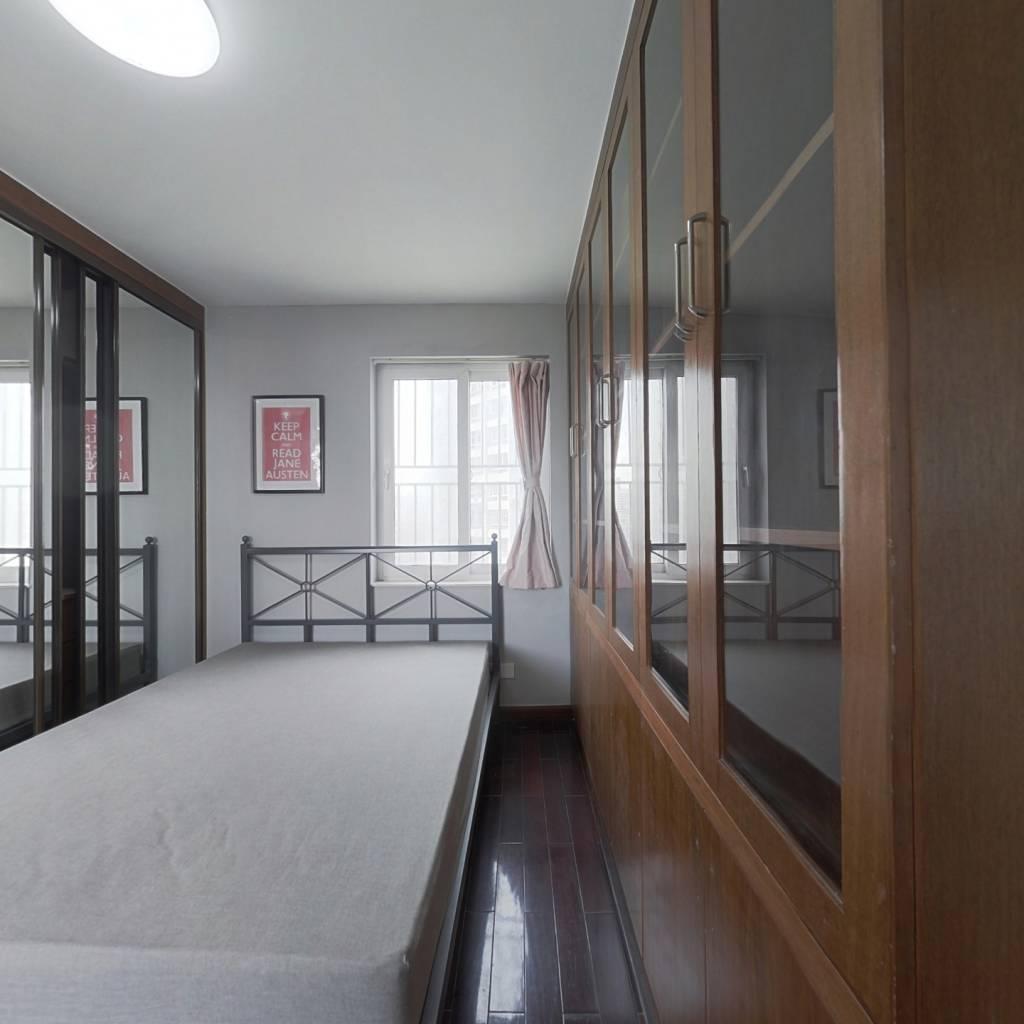 合租·特区报社宿舍楼 5室1厅 南卧室图