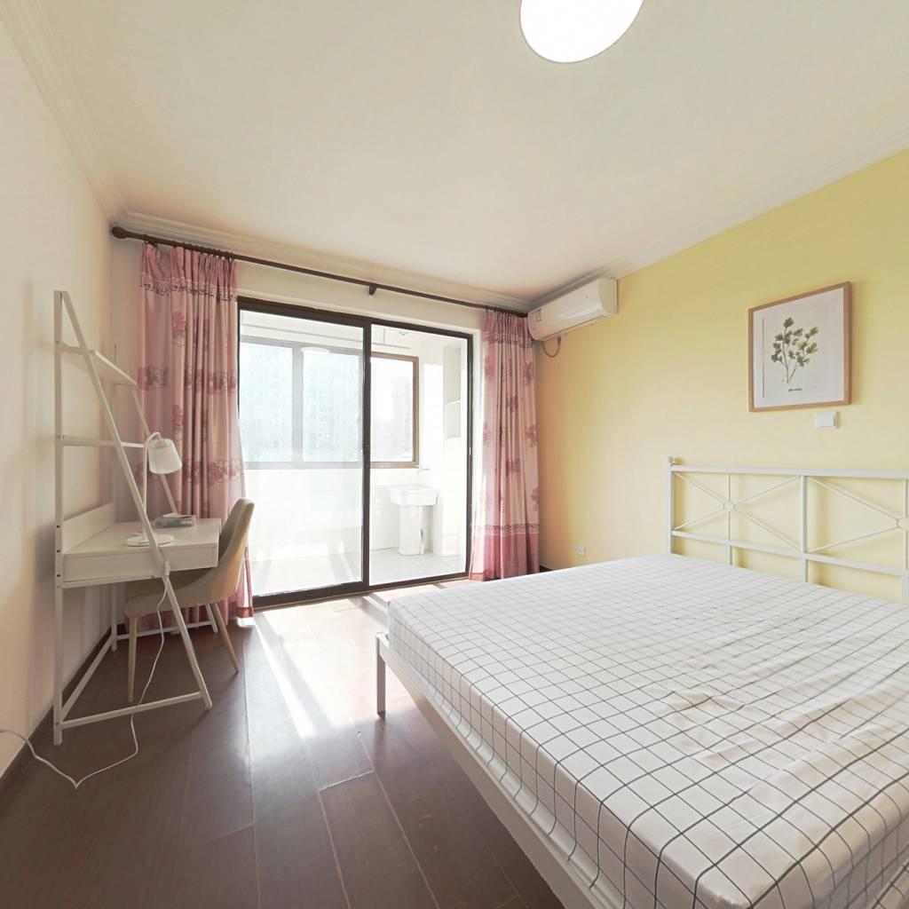合租·润江花苑 3室1厅 北卧室图