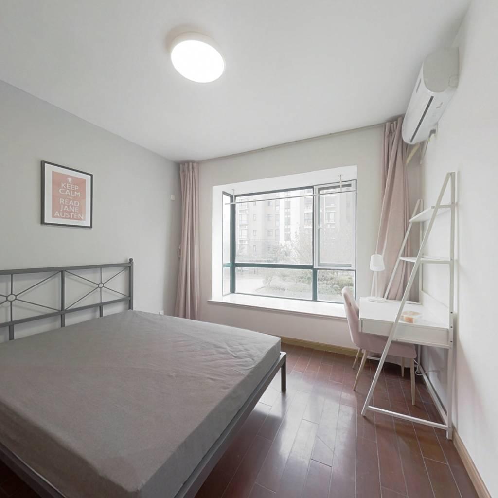 合租·阅城国际花园悠然园 3室1厅 南卧室图