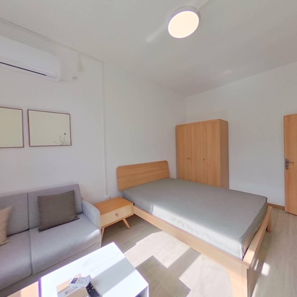 整租·花园路1号院 2室1厅 卧室图