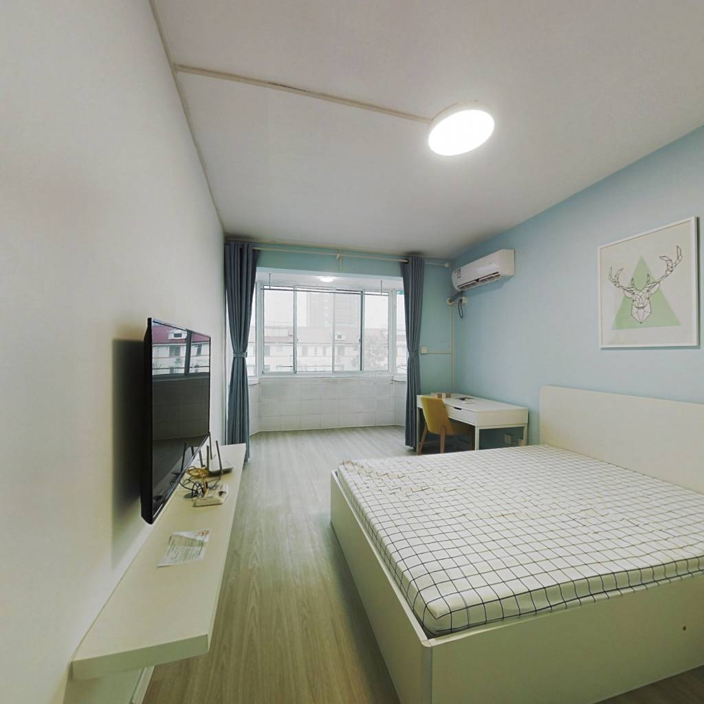 整租·建新小区 1室1厅 南卧室图