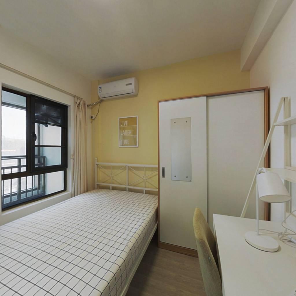 合租·庭瑞时代 4室1厅 西南卧室图