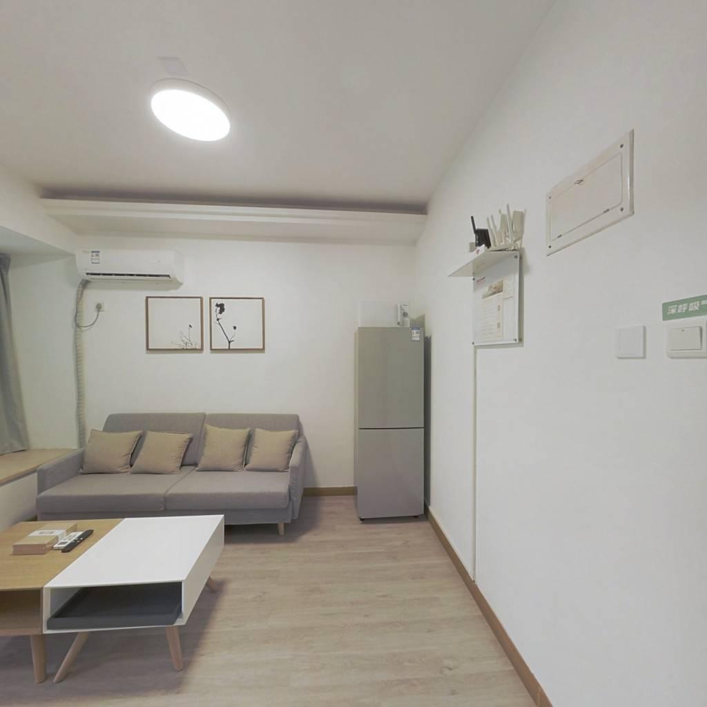 整租·都心名苑 1室1厅 南卧室图
