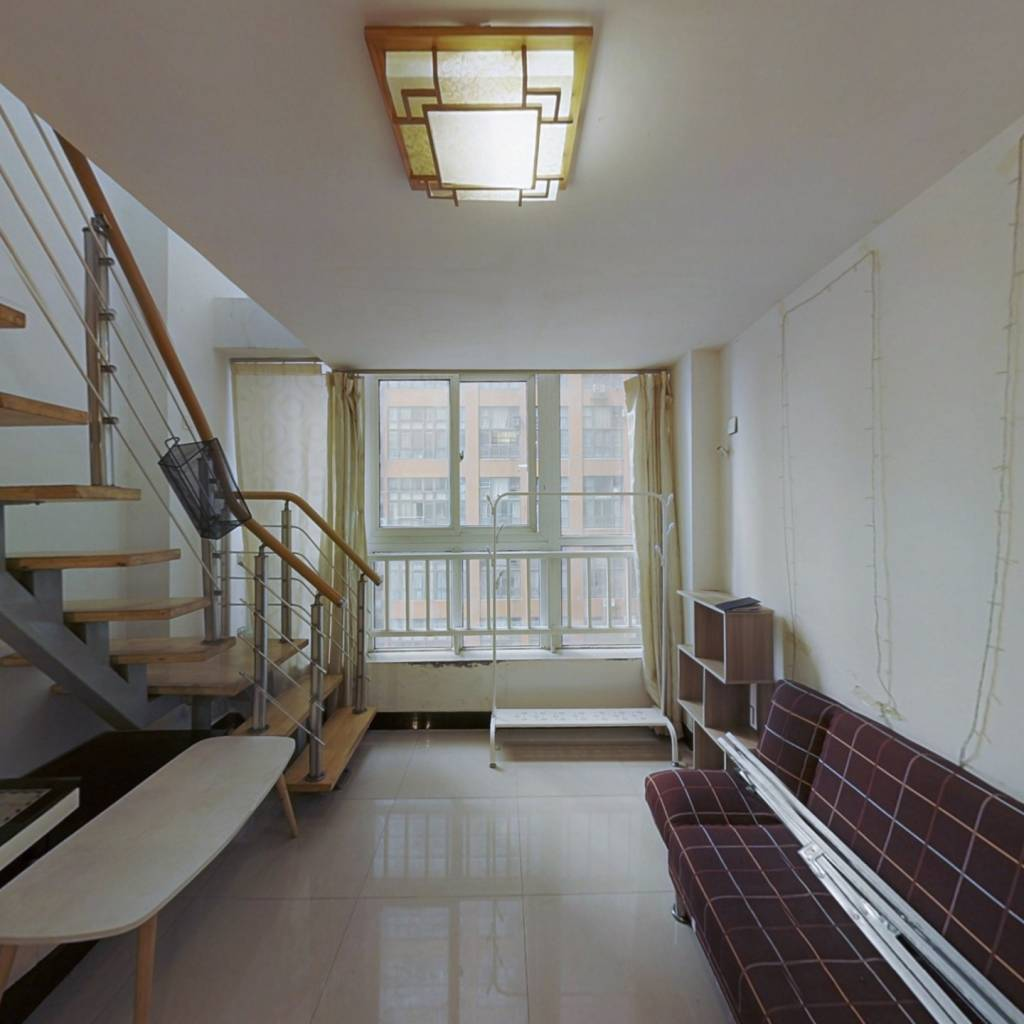 近地铁1号线买一层得2层电梯复式楼70年产权住宅公寓