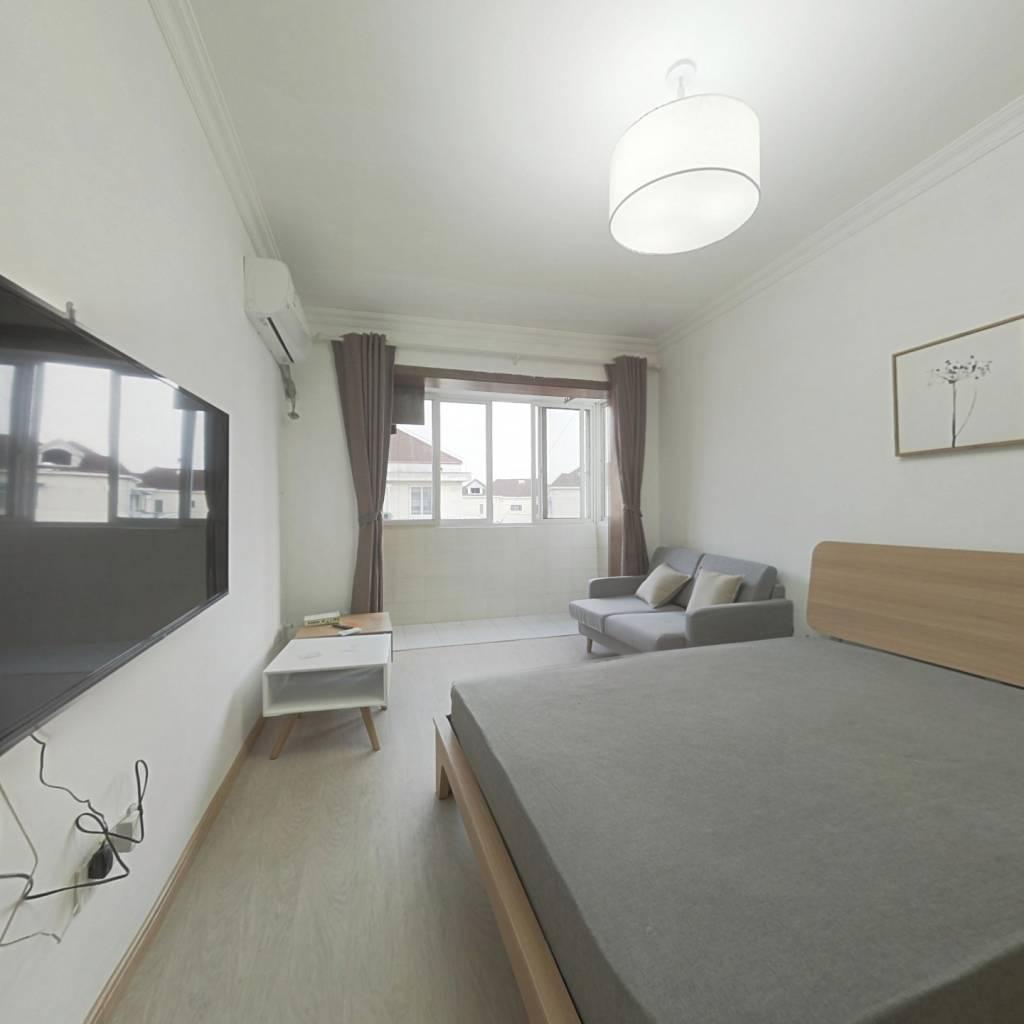 整租·上南六村 1室1厅 南卧室图