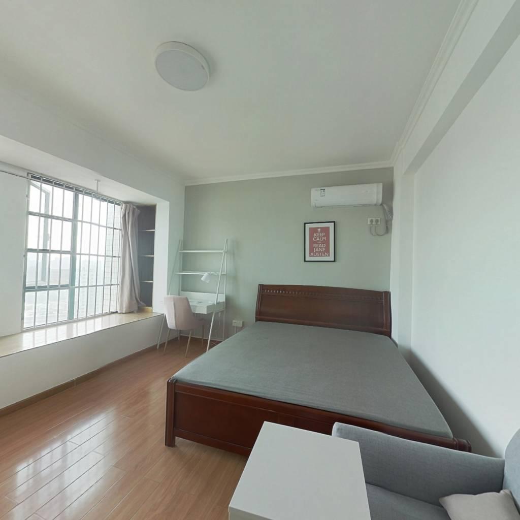 合租·银海雅苑 3室1厅 南卧室图