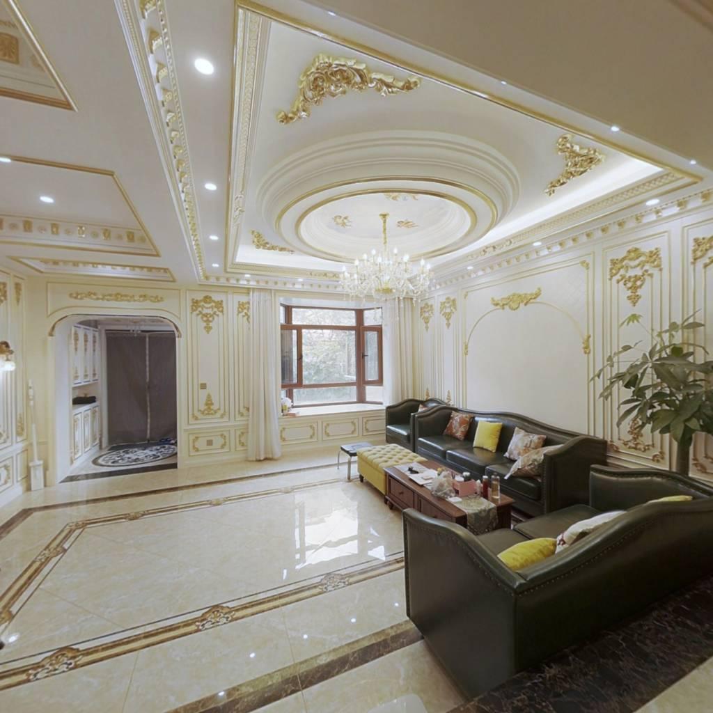 中海央墅 法式装修  拎包入住 看房方便 品牌家居