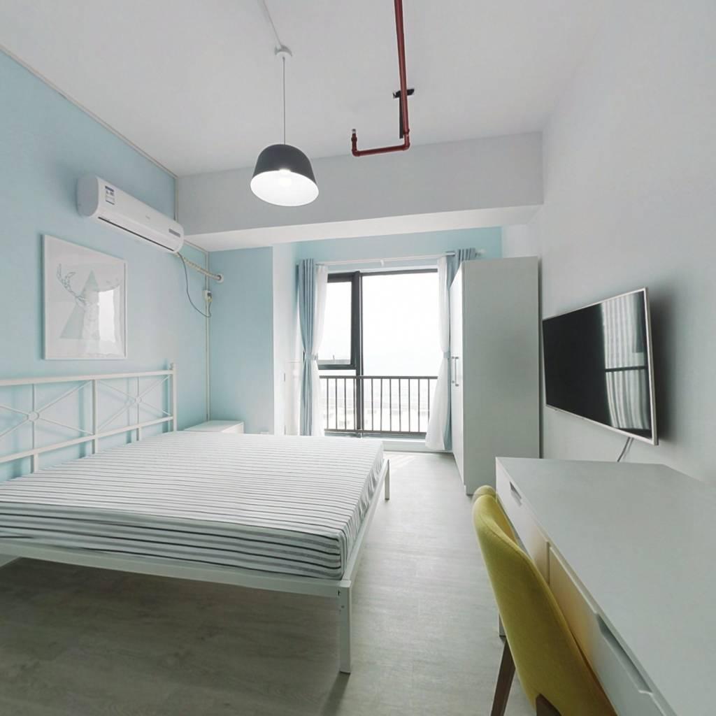 整租·万达茂 1室1厅 南卧室图