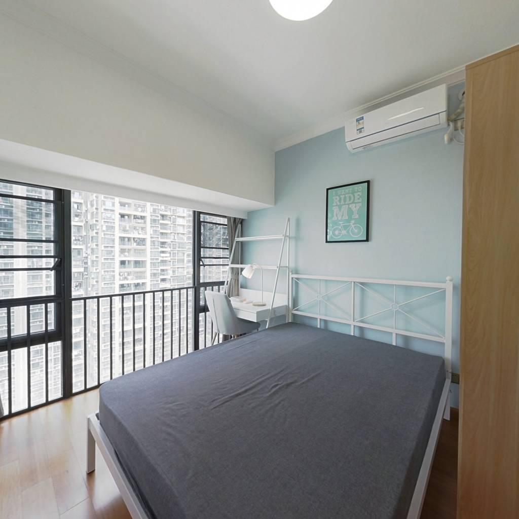 合租·佳兆业前海广场一期 4室1厅 南卧室图