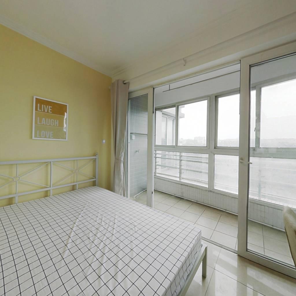合租·华景新城陶然庭园 3室1厅 北卧室图