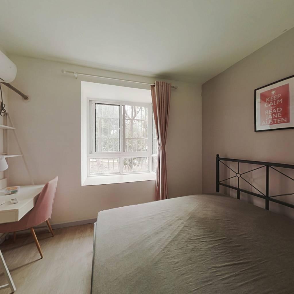 合租·高行绿洲(三期) 3室1厅 南卧室图