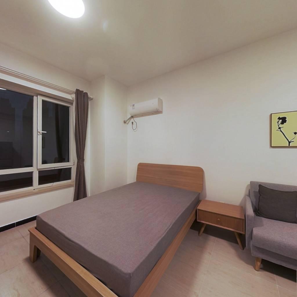 整租·乐想汇 1室1厅 西卧室图