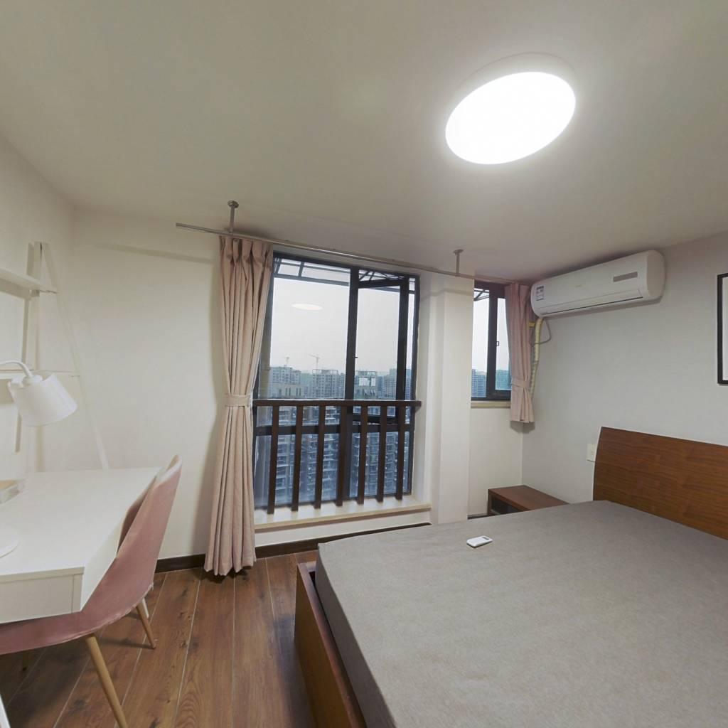 合租·水印康庭 5室1厅 南卧室图