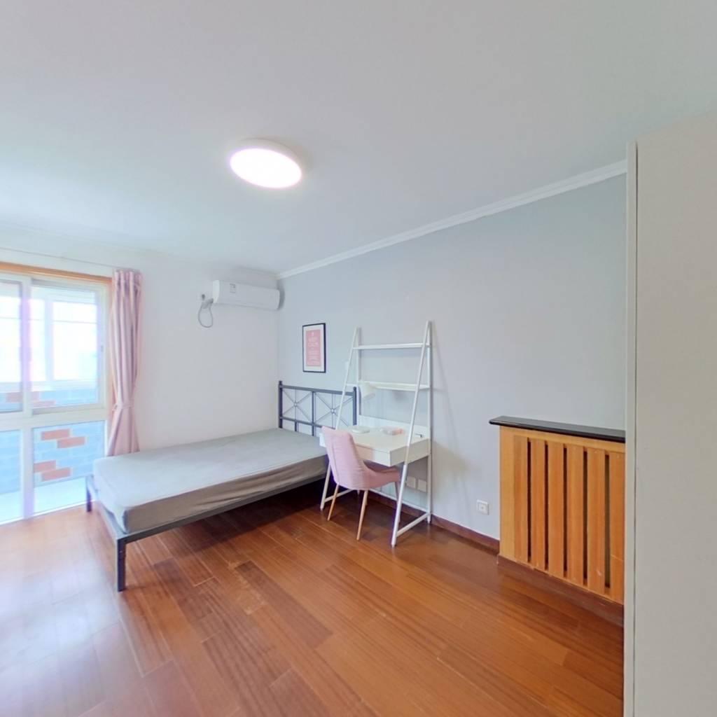 合租·上东三角洲 3室1厅 北卧室图