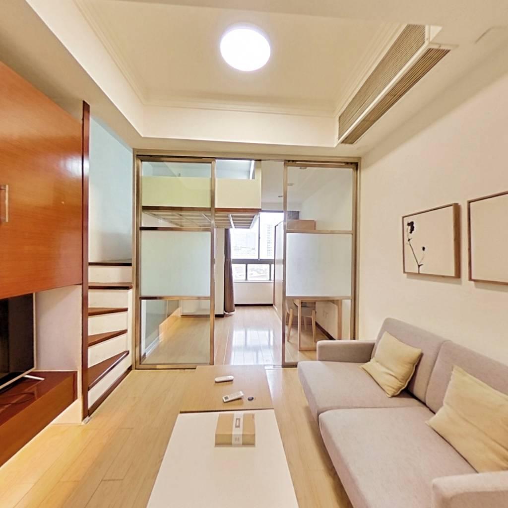 整租·同济佳苑 1室1厅 东北卧室图