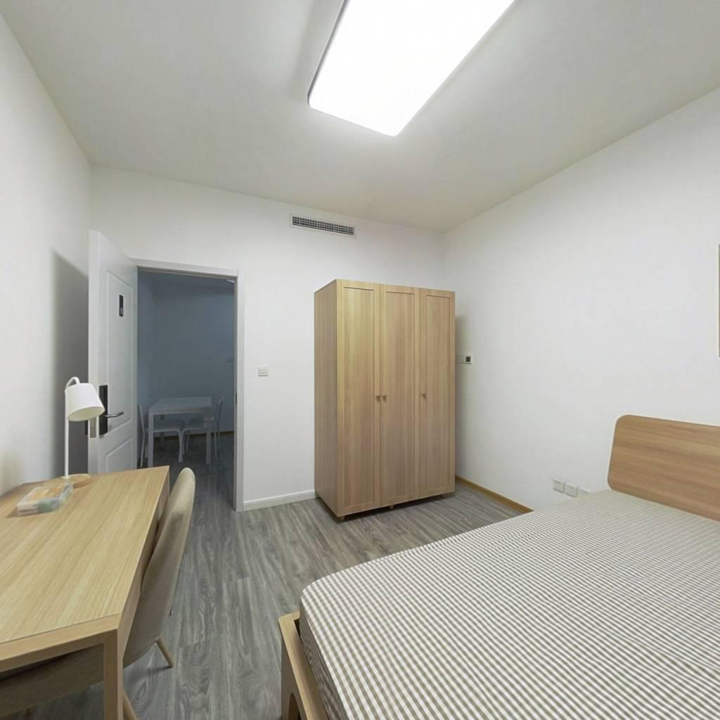 合租·融创臻园 3室1厅 南卧室图