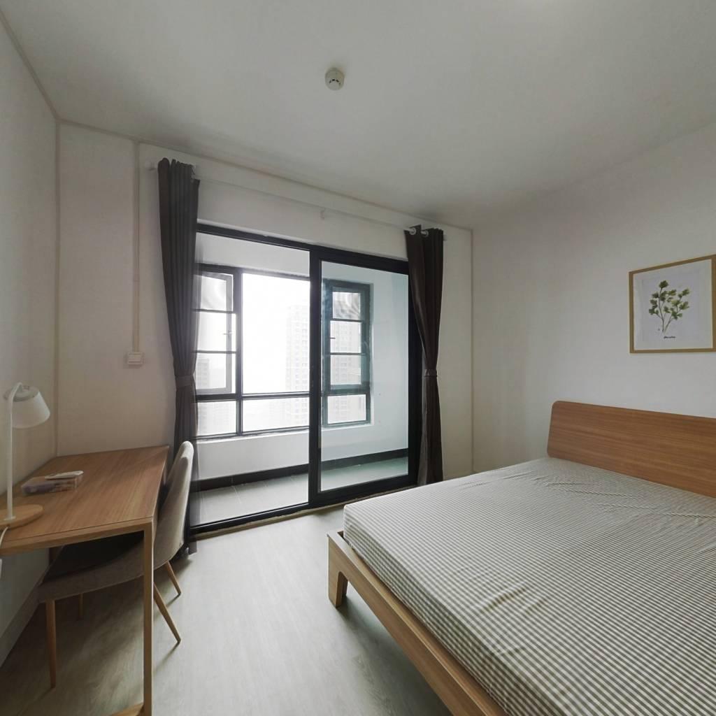 合租·复地东湖国际三期 4室1厅 东卧室图