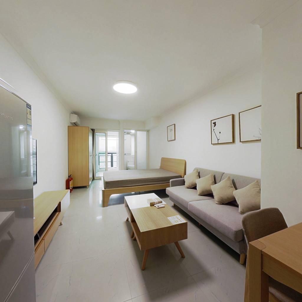 整租·金晖大厦 1室1厅 西卧室图