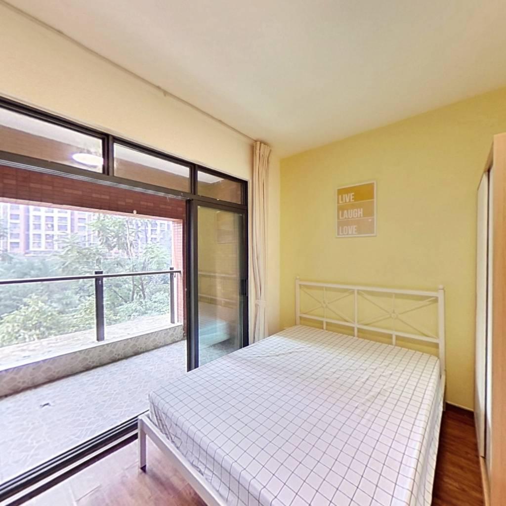 合租·华润二十四城一期 3室1厅 西卧室图