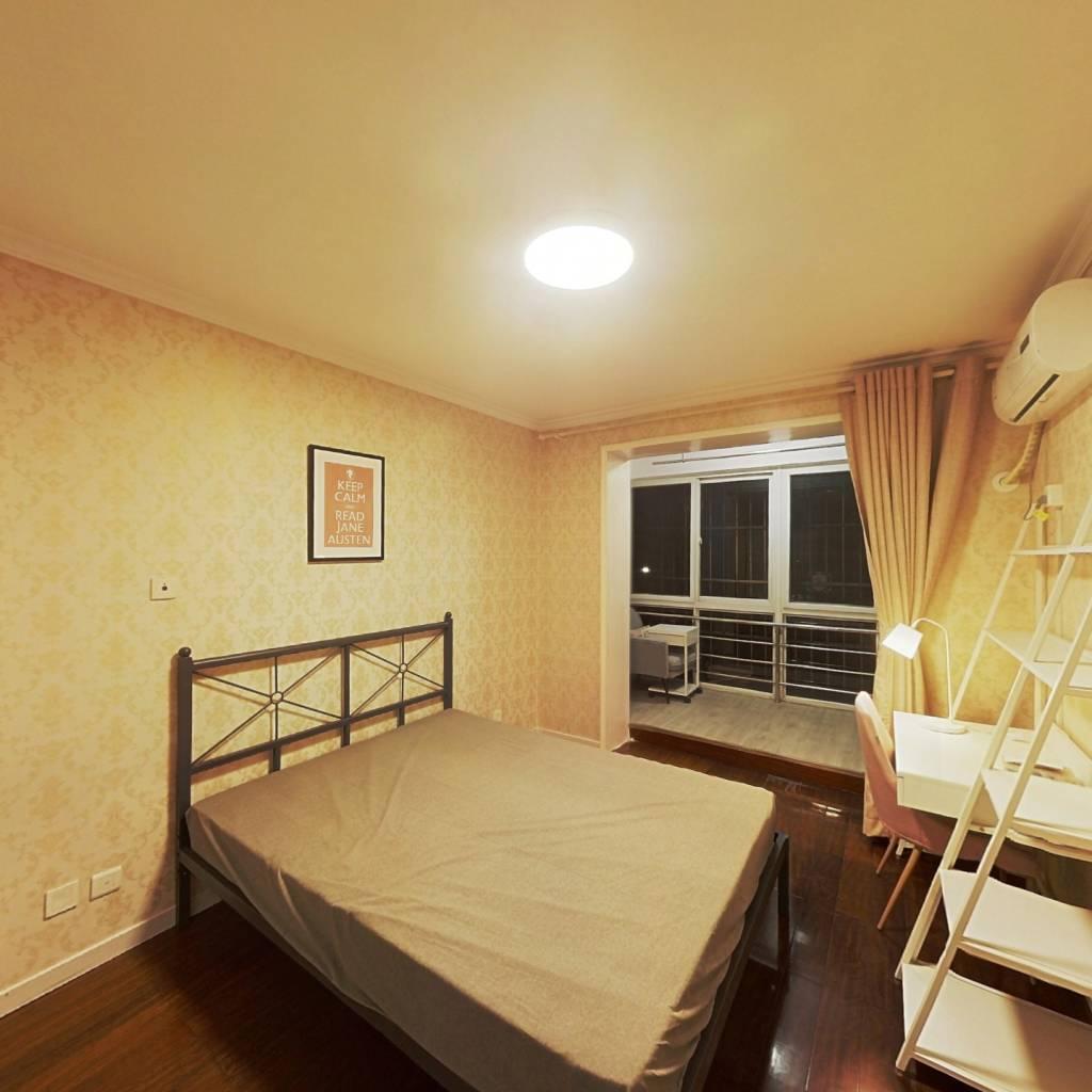 合租·芳水河畔家园 3室1厅 北卧室图