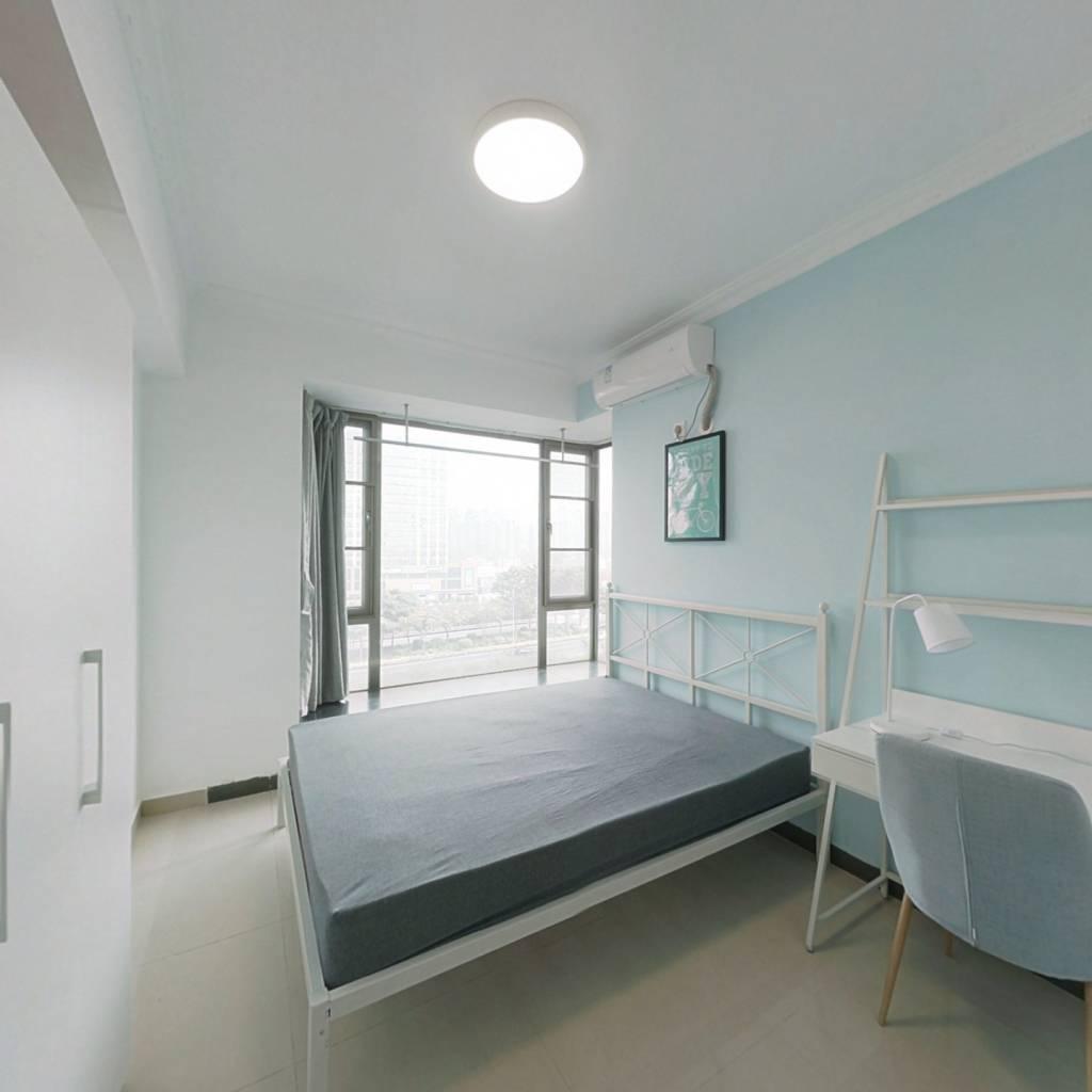 合租·金碧雅苑 3室1厅 西卧室图