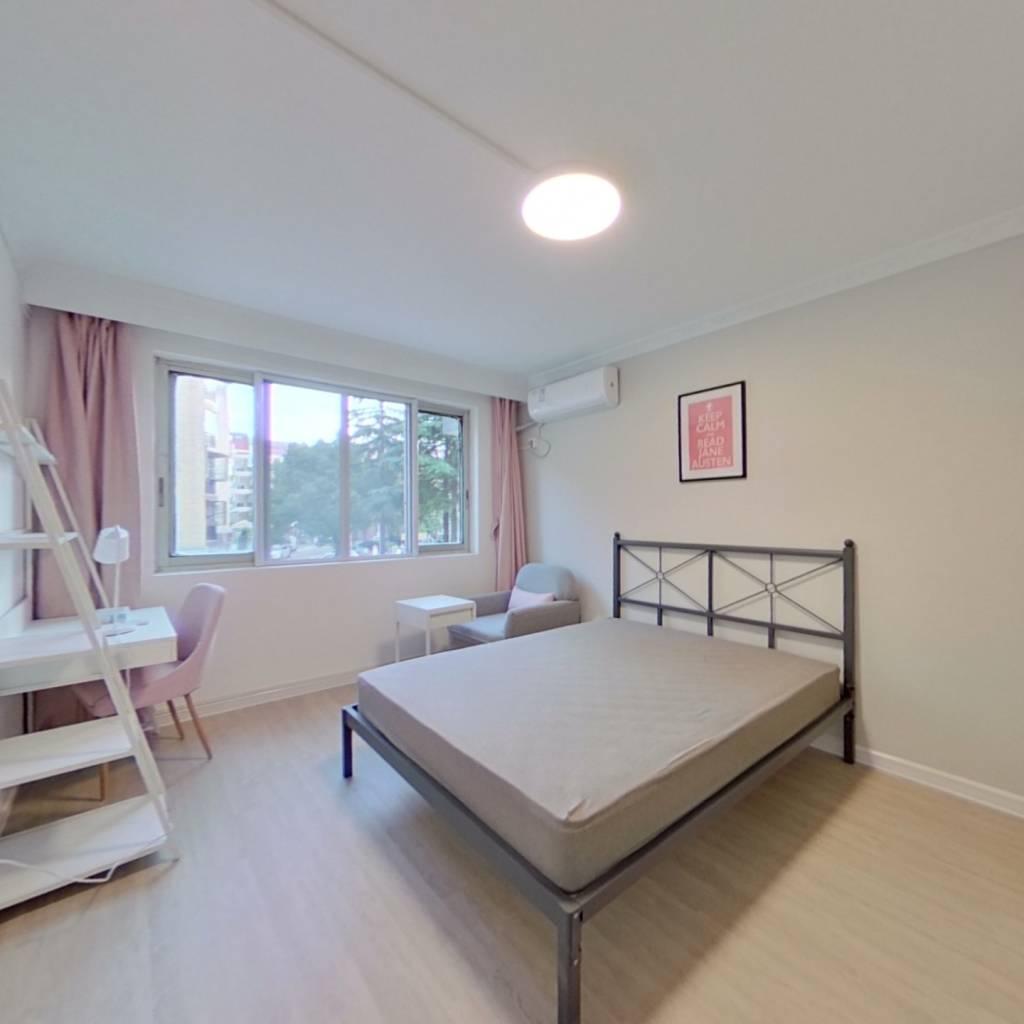 合租·钻石苑 3室1厅 南卧室图