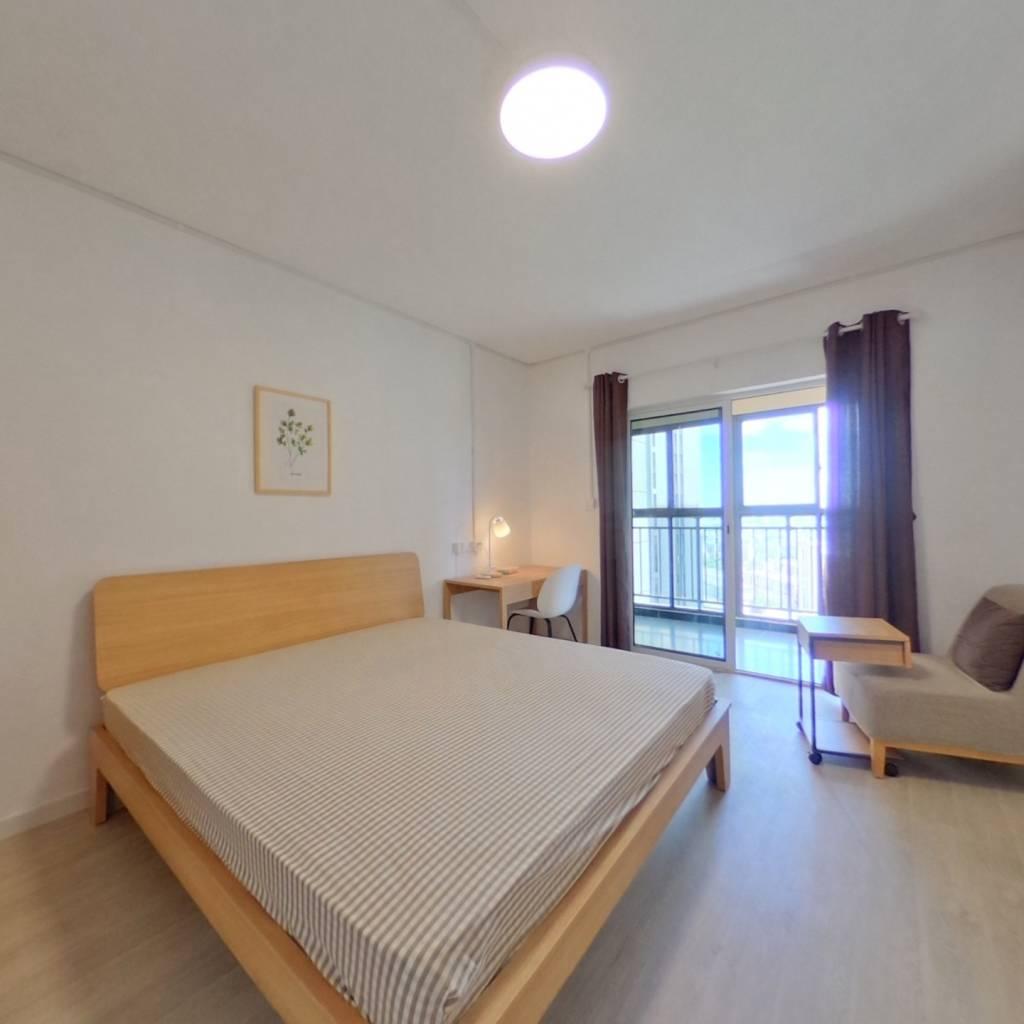 合租·中建东湖锦城 4室1厅 北卧室图
