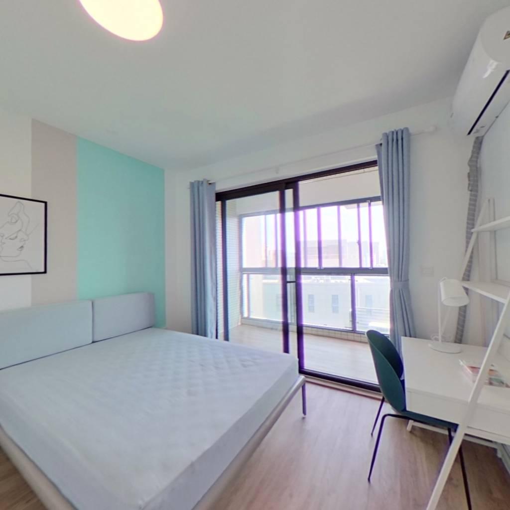 合租·浦江智汇园 3室1厅 南卧室图
