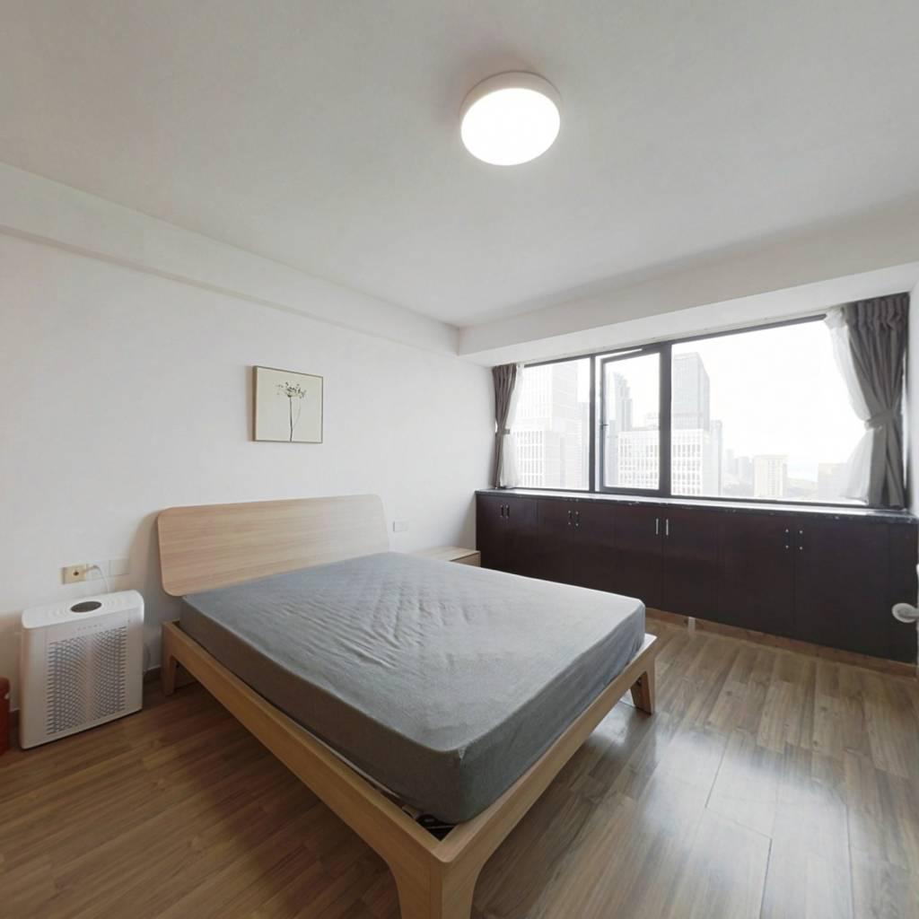 整租·景江城市花园 1室1厅 东北卧室图