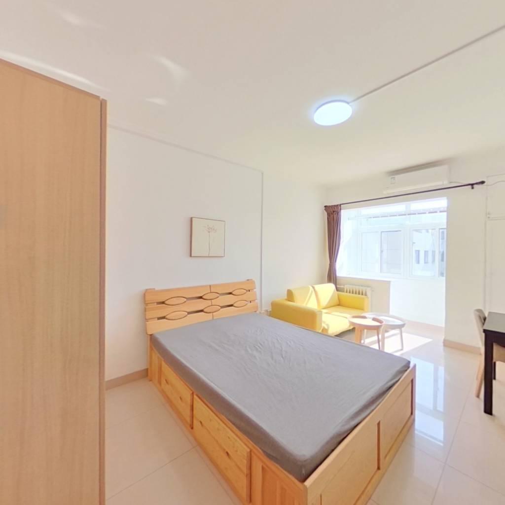 整租·测绘院宿舍 2室1厅 南卧室图