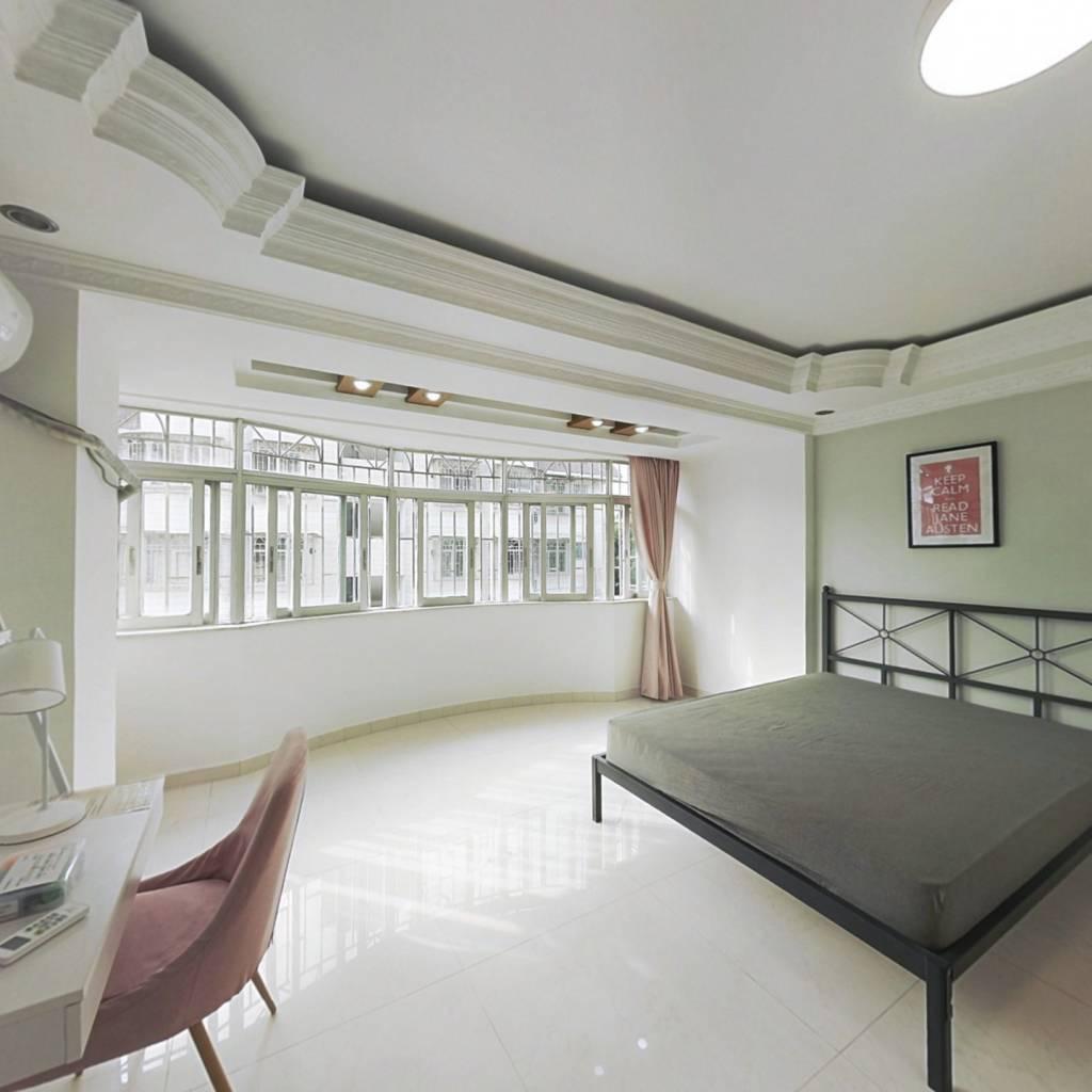 合租·世界花园 5室1厅 北卧室图