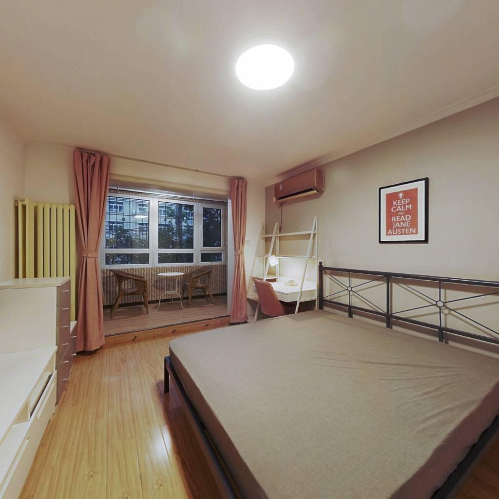 合租·西马金润二区 4室1厅 北卧室图