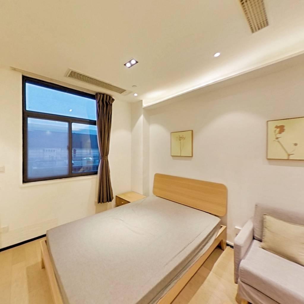 整租·雨花客厅 1室1厅 西卧室图