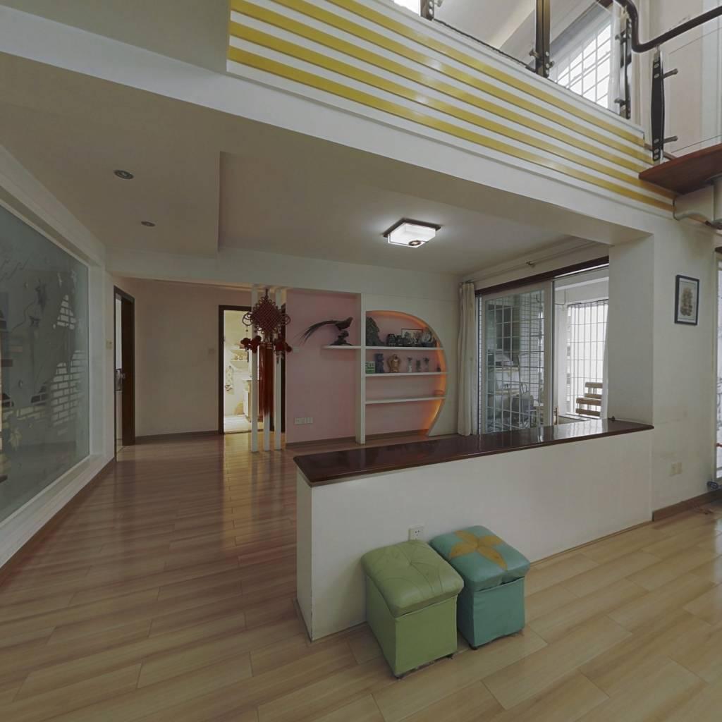 康居康园,顶楼复式,外加大露台已做好,可拎包入住。