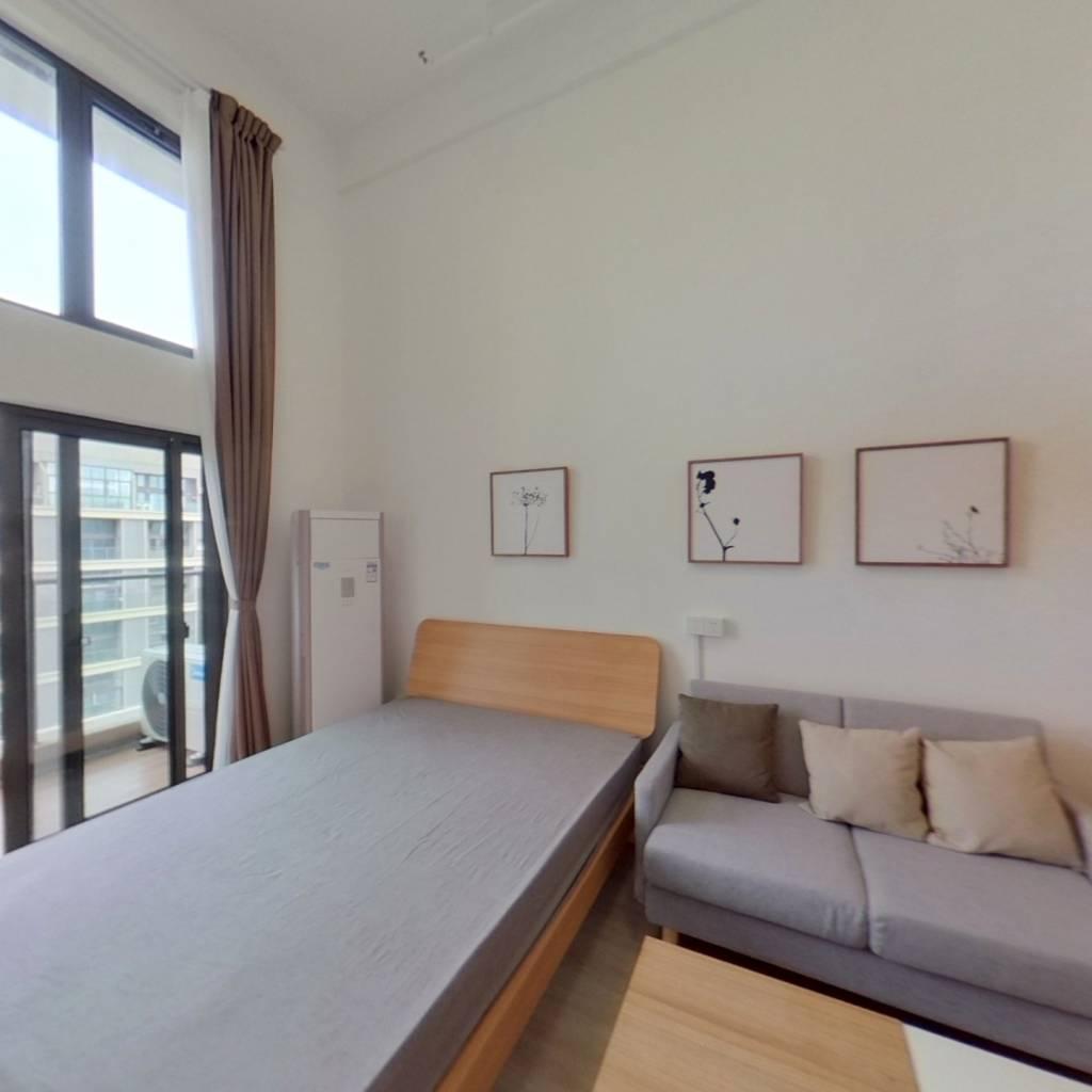 整租·绿地浦汇中心 1室1厅 卧室图