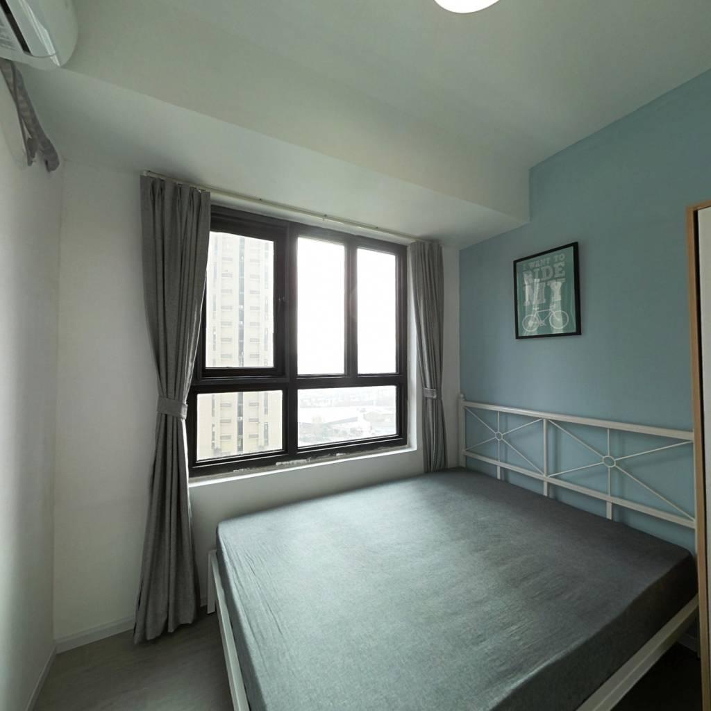 合租·鲁能公馆 4室1厅 东南卧室图