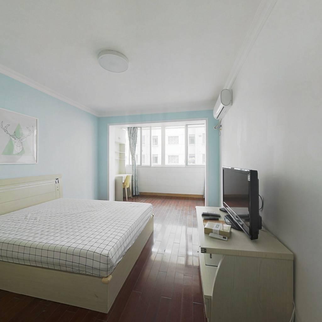 整租·竹园新村(浦东) 1室1厅 南卧室图