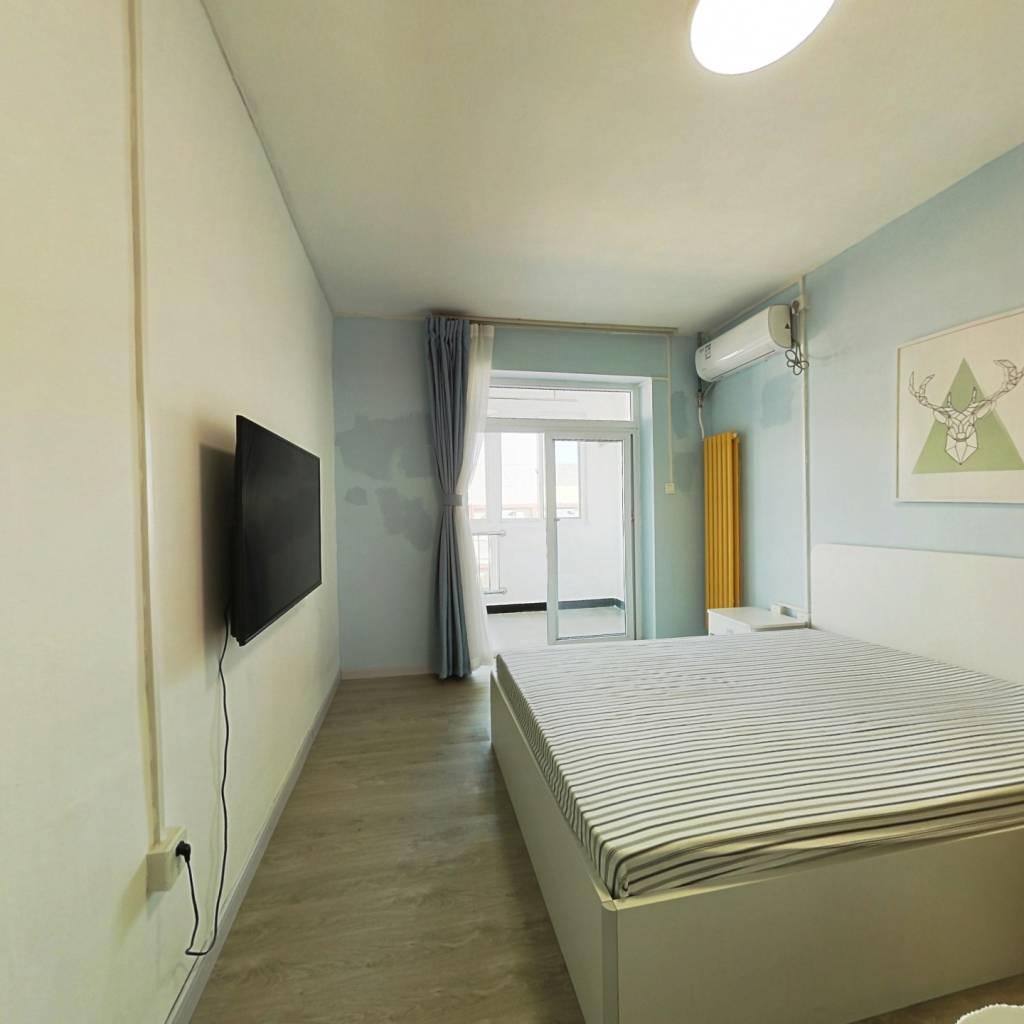 整租·黑窑厂西里 1室1厅 东卧室图