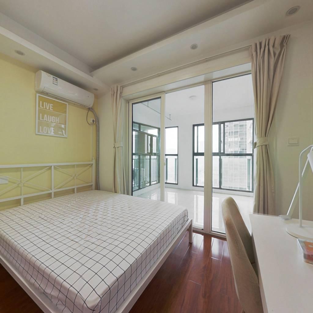 合租·摩根中心 4室1厅 西卧室图