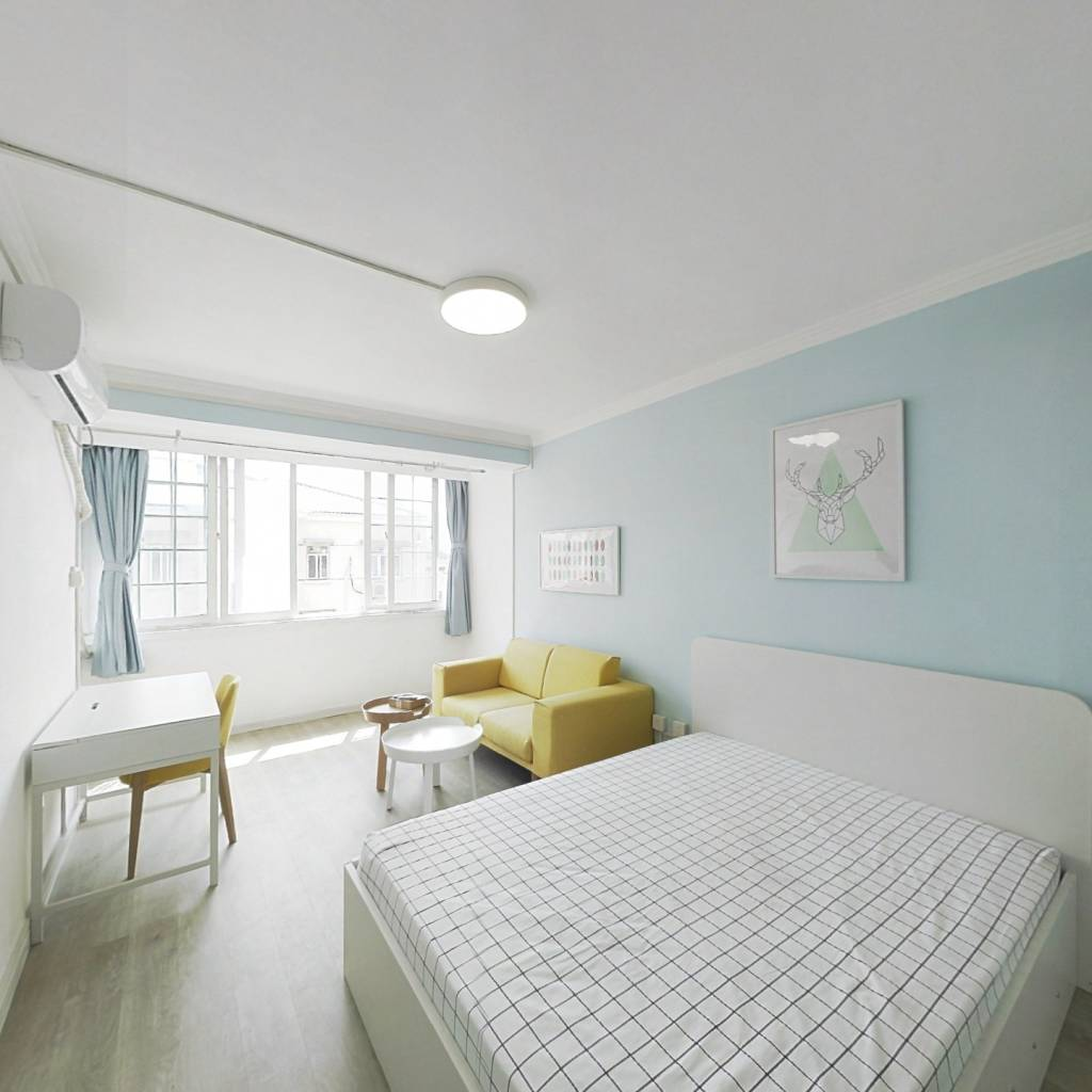 整租·长江小区 1室1厅 南卧室图
