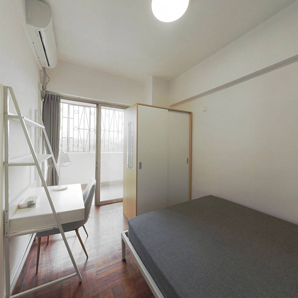 合租·粤和楼 3室1厅 南卧室图