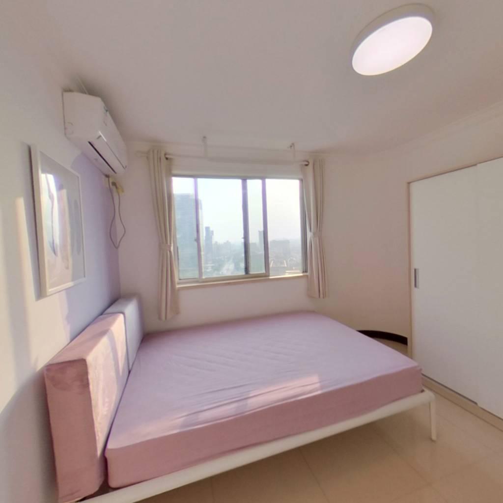 合租·银霄大厦 4室1厅 北卧室图