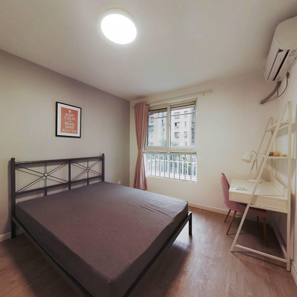 合租·春江新城新河苑一期 4室1厅 南卧室图
