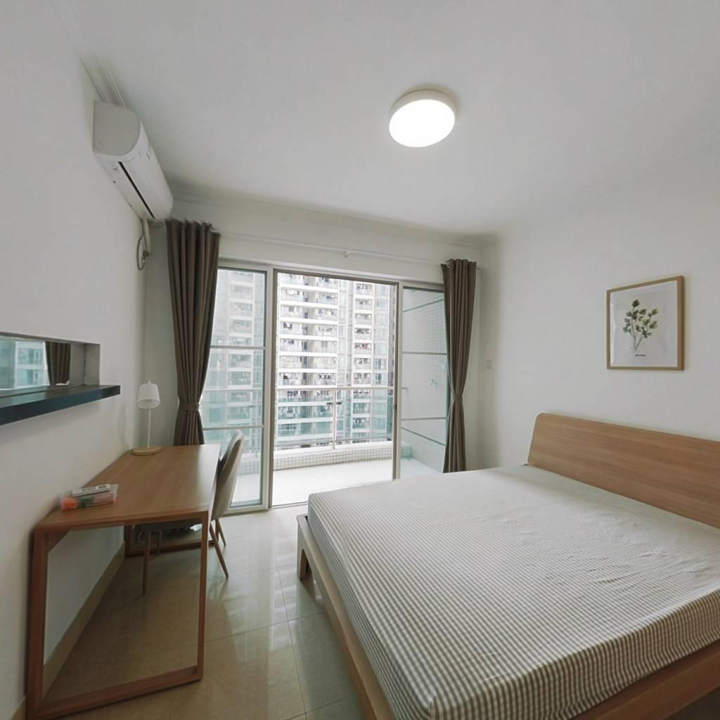 合租·叠彩园 3室1厅 北卧室图