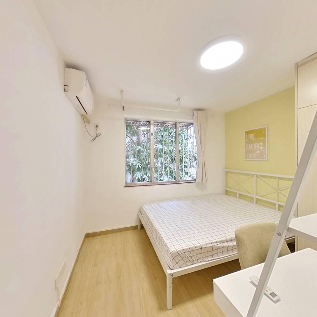 合租·愉康花园 4室1厅 北卧室图