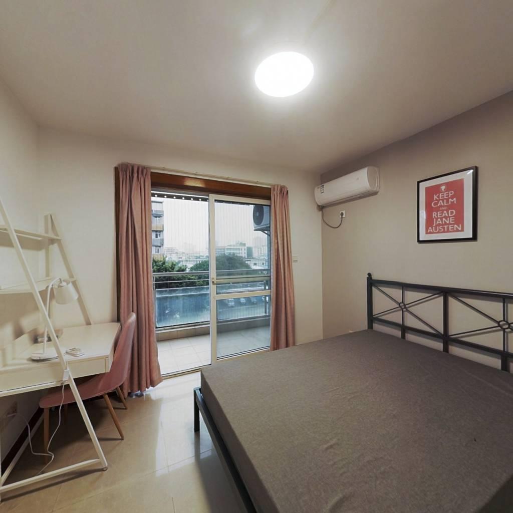合租·和平家园 3室1厅 南卧室图