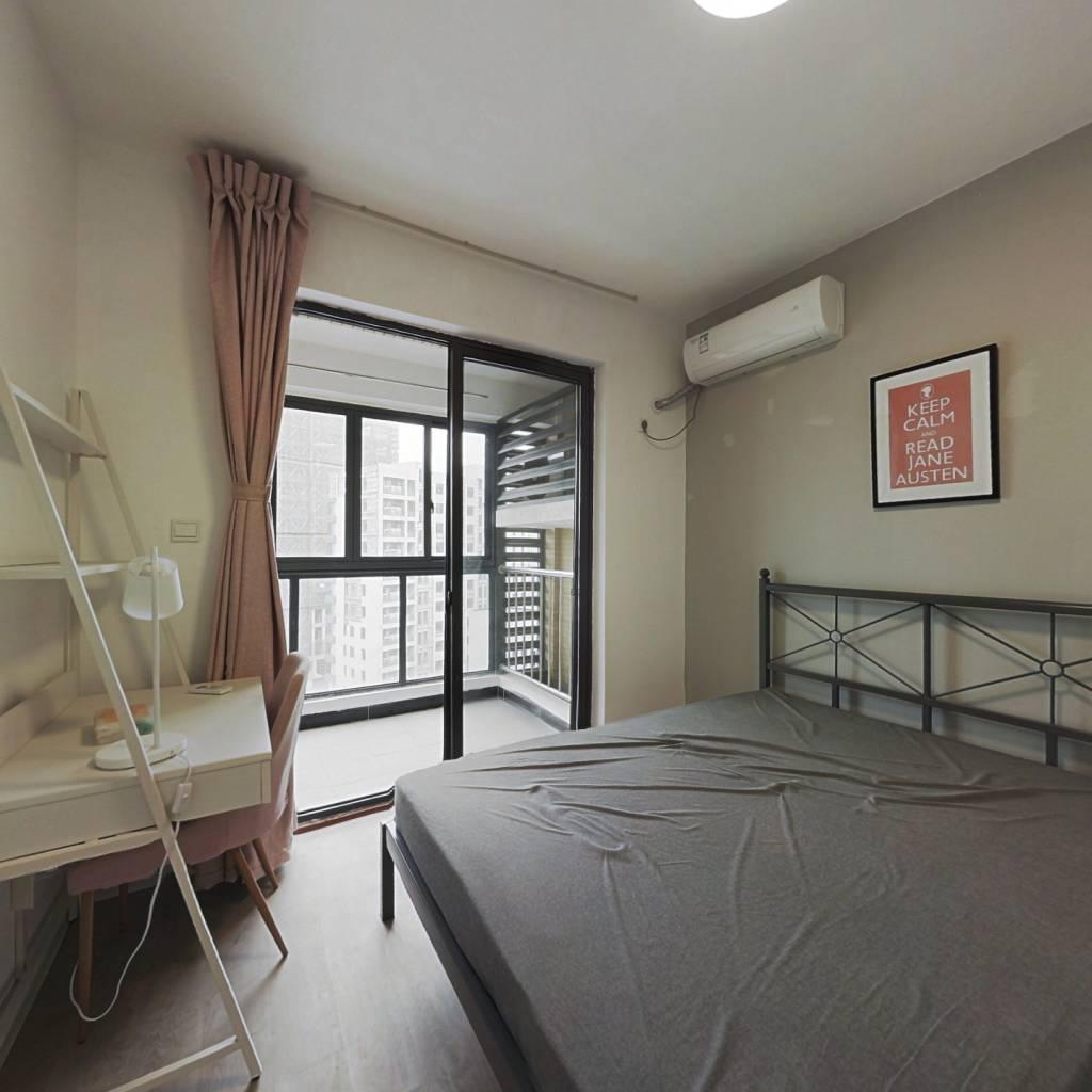 合租·云河南园 3室1厅 北卧室图