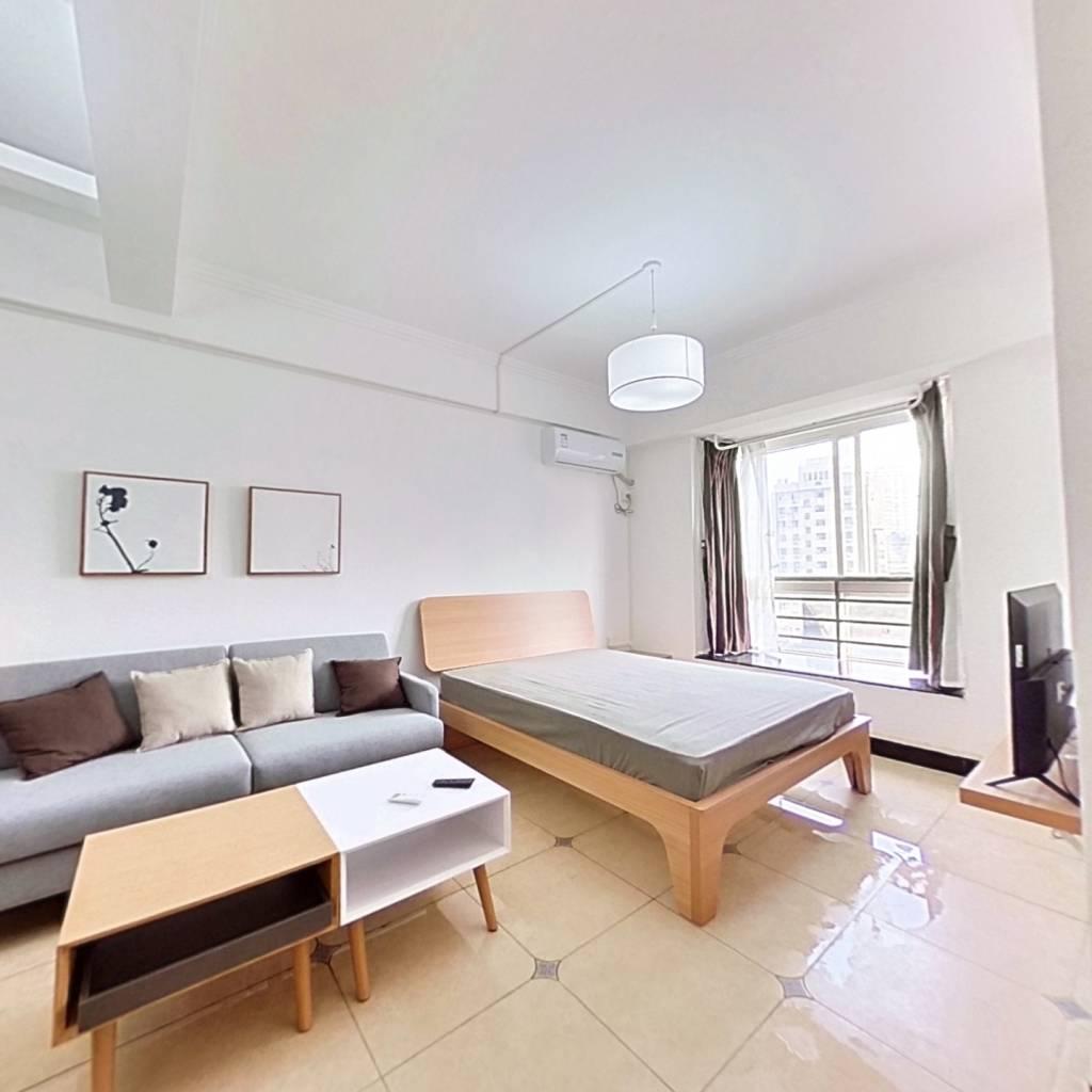 整租·金色未来 1室1厅 东南卧室图