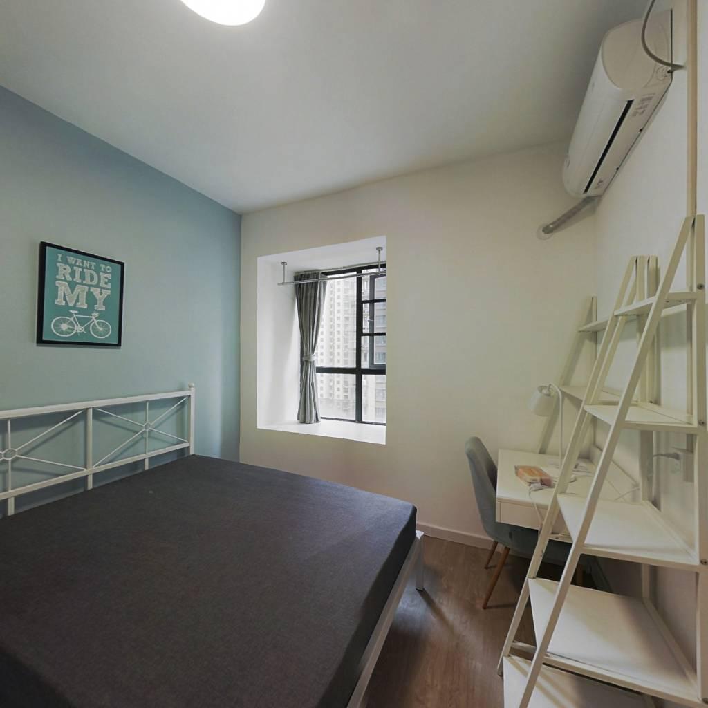 合租·钰龙湾 4室1厅 北卧室图